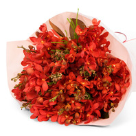 모카라꽃다발(빨강)